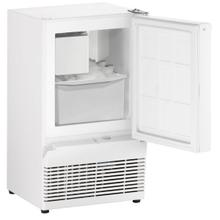 """View Product - Bi95 14"""" Crescent Ice Maker With White Solid Finish (115 V/60 Hz Volts /60 Hz Hz)"""