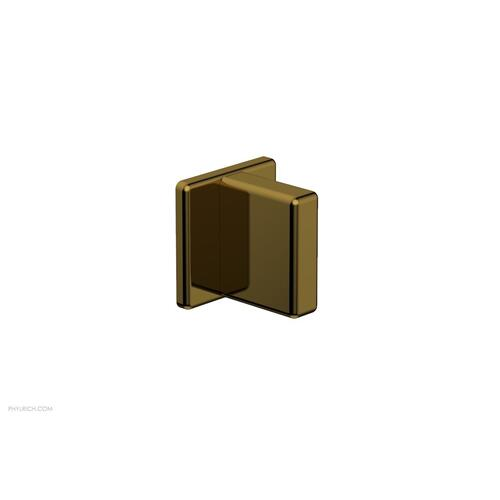 MIX Volume Control/Diverter Trim - Blade Handle 290-35 - French Brass