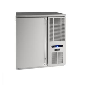 "U-Line32"" Back Bar Refrigeration With Stainless Solid Finish (115 V/60 Hz Volts /60 Hz Hz)"