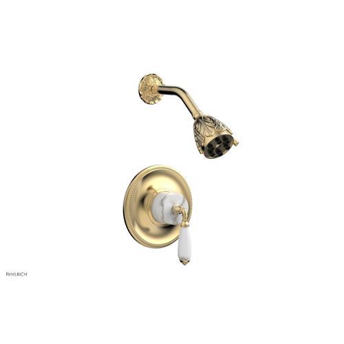 Phylrich - VALENCIA Pressure Balance Shower Set PB3338B - Satin Brass