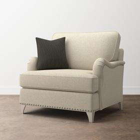 Custom Upholstery Chair and a Half