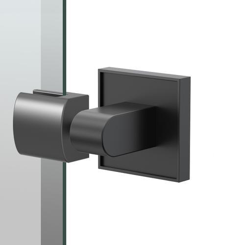 Mode Oval Mirror in Matte Black