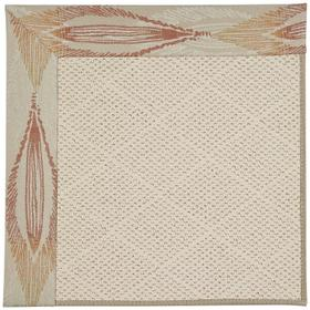 Creative Concepts-White Wicker Empress Clay Machine Tufted Rugs