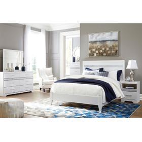 Jallory - White 4 Piece Bedroom Set