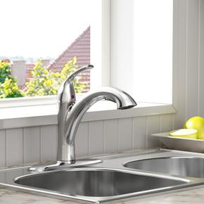 Quince 1-Handle Pull-Out Kitchen Faucet - 1.5 GPM  American Standard - Polished Chrome