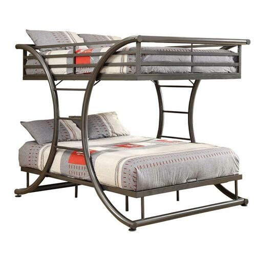 Stephan Metal Full-over-full Bunk Bed