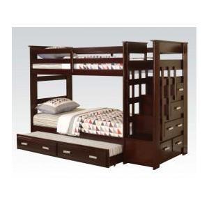 Acme Furniture Inc - Kit - T/t Bunkbed , Trundle