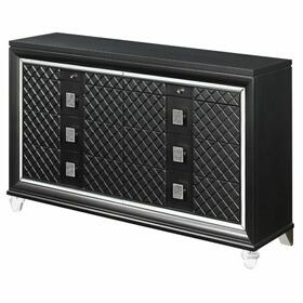 ACME Sawyer Dresser - 27975 - Metallic Gray