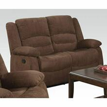 ACME Bailey Loveseat (Motion) - 51026 - Dark Brown Chenille