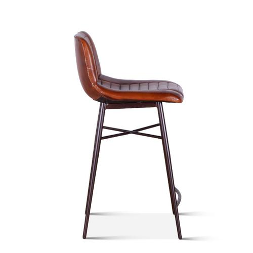 Riviera Leather Counter Chair