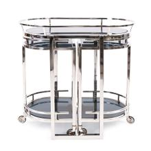 Nesting Stainless Steel Bar Cart