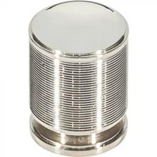 View Product - Vibe Knob 1 1/8 Inch Polished Nickel Polished Nickel
