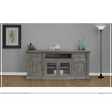 "80"" TV Stand 2 Drawer, 4 Door"