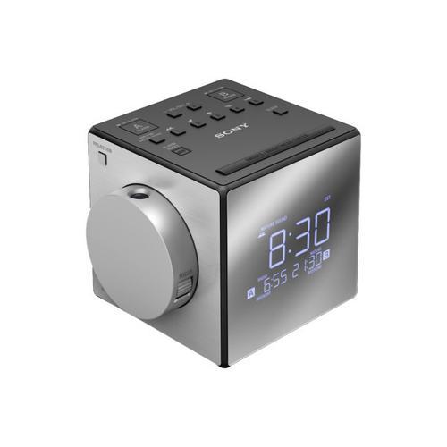 Sony - Radio Alarm Clock with Projector