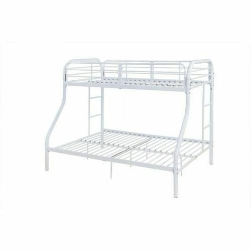 ACME Tritan Twin/Full Bunk Bed - 02043WH - White