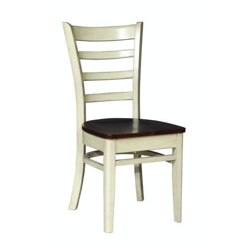 Emily Chair in Almond & Espresso