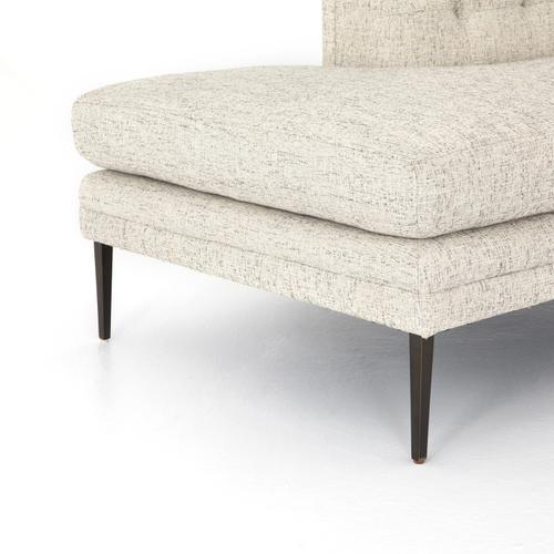 Right Arm Facing Configuration Lyon Pewter Cover Kingsley Bumper Chaise Sectional