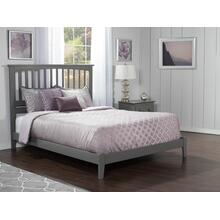Mission Queen Bed in Atlantic Grey