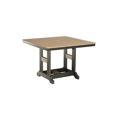 "Garden Classic 44"" Square Table - Bar"