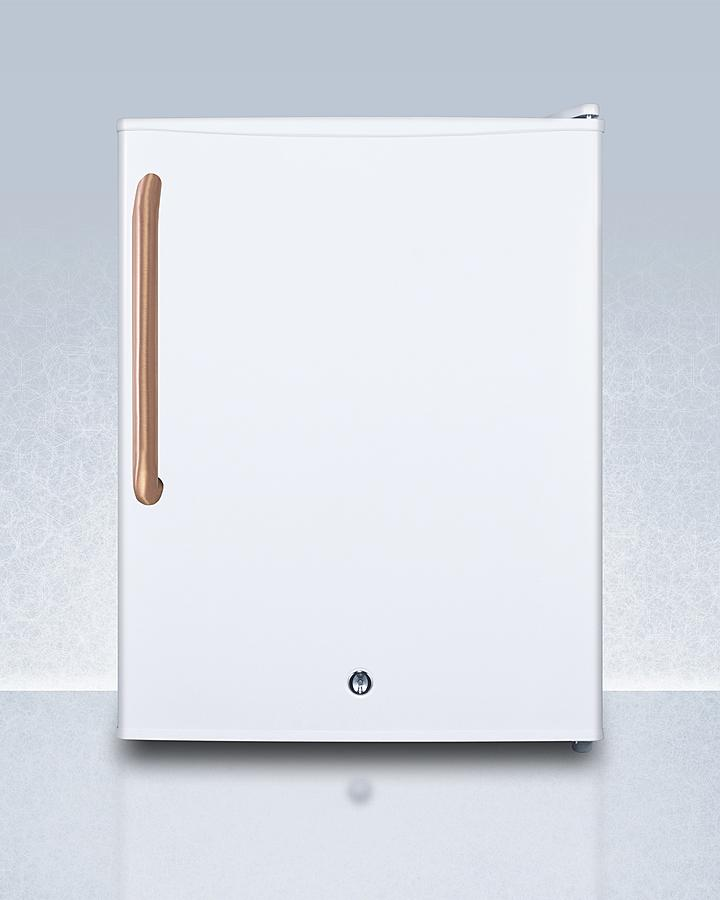 SummitCompact All-Freezer With Antimicrobial Pure Copper Handle