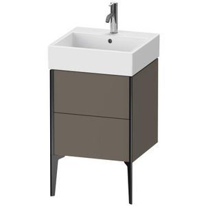 Duravit - Vanity Unit Floorstanding, Flannel Gray Satin Matte (lacquer)