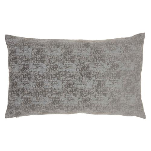 """Life Styles Et438 Charcoal 14"""" X 24"""" Throw Pillow"""