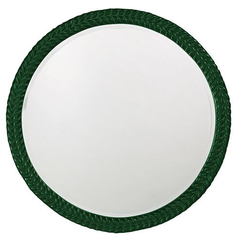 Howard Elliott - Amelia Mirror - Glossy Hunter Green