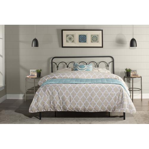 Hillsdale Furniture Jolene Full/queen Headboard In Textured Black (headboard Frame Included)