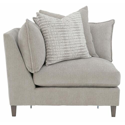 Joli Corner Chair in Aged Gray (788)