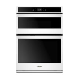 5.7 Cu. Ft. Smart Combination Wall Oven with Touchscreen White