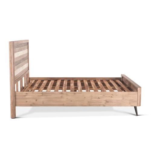 Boardwalk Queen Bed Natural