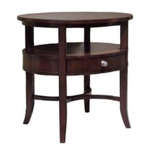 See Details - Manhattan Oval End Table