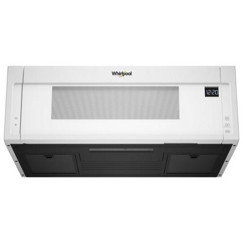Whirlpool - 1.1 cu. ft. Low Profile Microwave Hood Combination