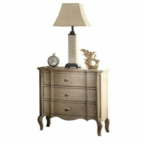 ACME Chelmsford Nightstand - 26053 - Antique Taupe