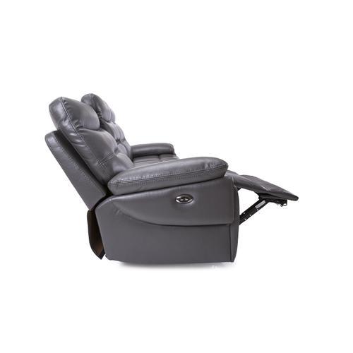 Decor-rest - Grey Power Reclining Sofa