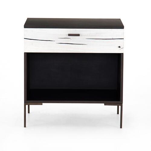 Bleached Yukas Finish Cuzco Nightstand