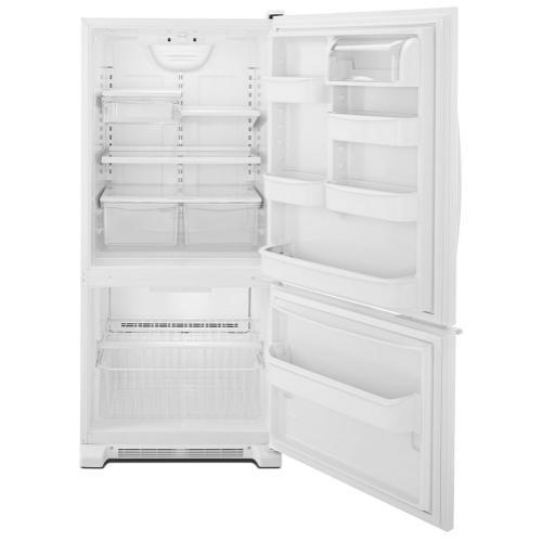 Whirlpool® 19 cu. ft. Bottom-Freezer Refrigerator with LED Lighting
