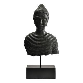 Buddha Bust Black