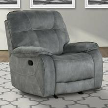 See Details - COOPER - SHADOW GREY Manual Glider Recliner