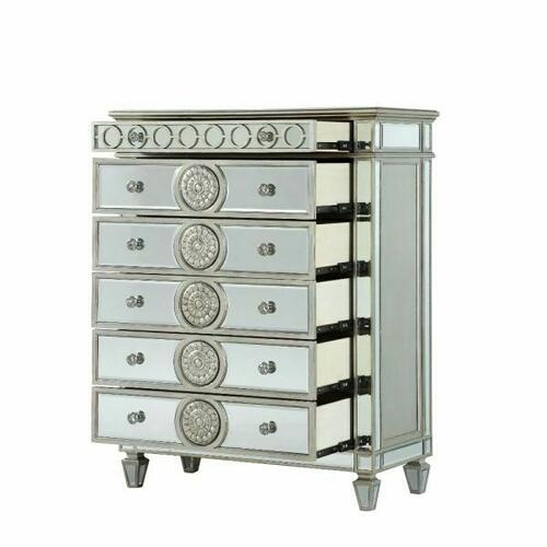 ACME Varian Chest - 26156 - Mirrored