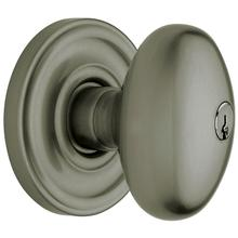 Antique Nickel 5225 Egg Knob