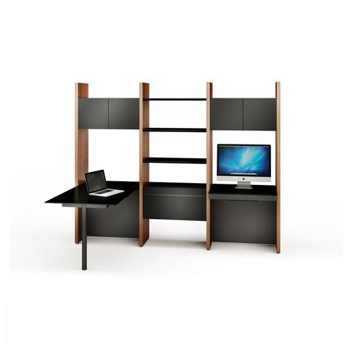 See Details - Semblance Systems ® 5413-PD in Chocolate Stained Walnut Black