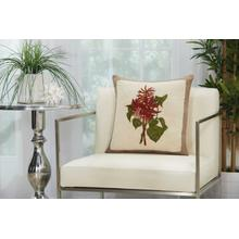 "Royal Palm Ns829 Natural 18"" X 18"" Throw Pillow"