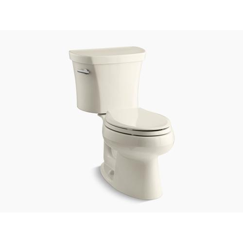 """Kohler - Almond Two-piece Elongated 1.28 Gpf Toilet With 14"""" Rough-in"""