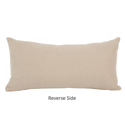 Howard Elliott - Kidney Pillow Oxford Slate - Poly Insert