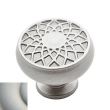 Satin Nickel Couture Knob