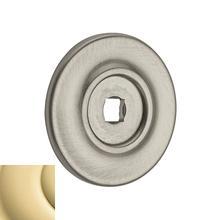 See Details - Polished Brass Knob Back Plate