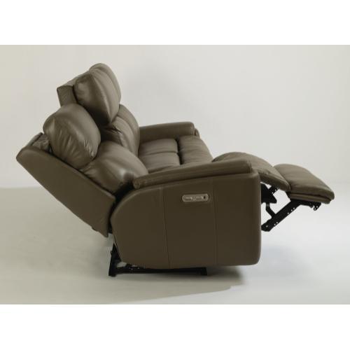 Rio Power Reclining Sofa with Power Headrests