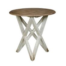 See Details - Trails Colton Round Lamp Table