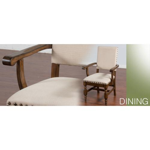 Savannah Side Chair w/ Cushion Seat & Back